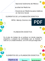 Actividad 2. Fundamentos teóricos de la Planificación Didáctica