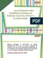 REFORMA MUNICIPAL. ACTIVIDADES ECONOMICAS