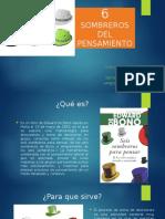 6 SOMBREROS DEL PENSAMIENTO.pptx