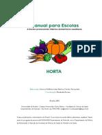 horta e alimentação