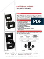 DTS Oil Dielectric Test Sets