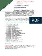 International Journal of Multimedia & Its Applications (IJMA)