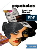 Las espanolas - Francisco Umbral