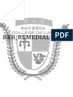 431651438 BRB Remedial Law1 PDF