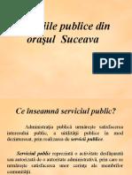 Servicii publice Suceava