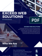 EXCEED WEB SOLUTIONS AND MULTIMEDIA SERVICES