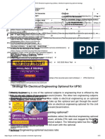 UPSC Electrical engineering syllabus; electrical engineering optional strategy.pdf