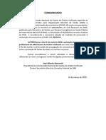 117532_2020.1 (XXXI EOU) - Comunicado - Suspensão da prova