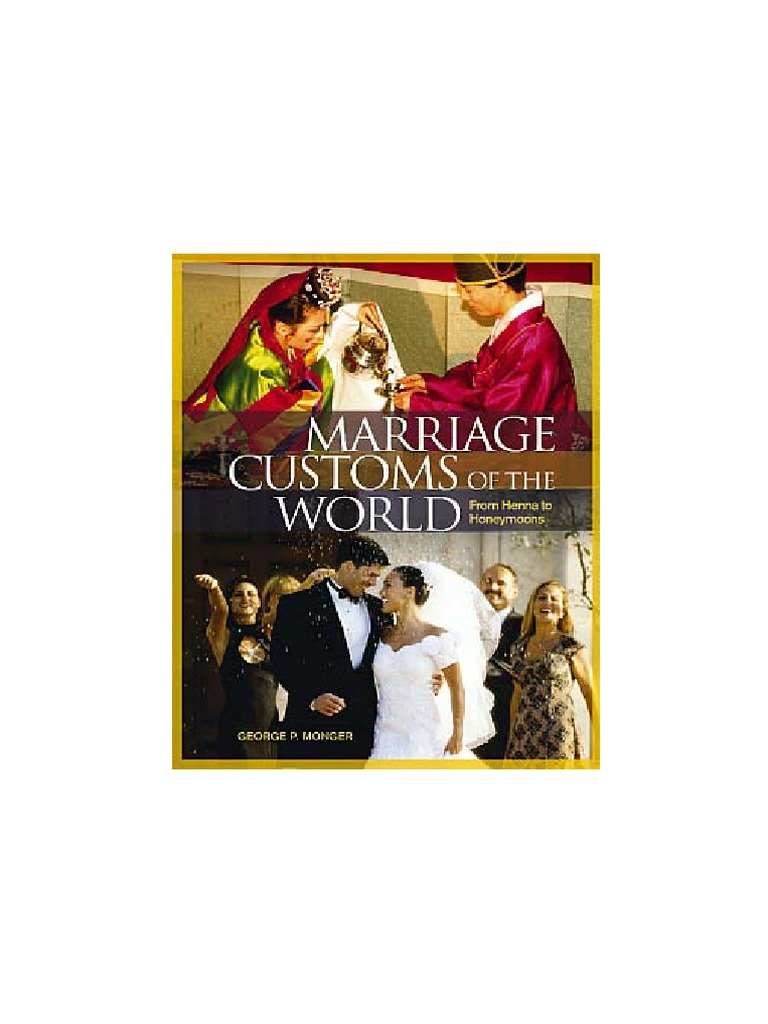 Mariage Customs Of The World Wedding Bride