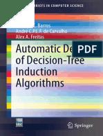 Automatic Design of Decision-Tree Induction Algorithms - Rodrigo C. Barros.pdf