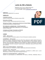 Curriculum - Ricardo da Silva Rabelo