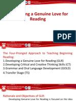 Genuine Love for Reading GLR