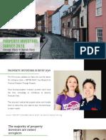 UK Property Investors Survey 2019