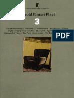 Plays Three - Harold Pinter.pdf