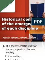 Historical context DISS