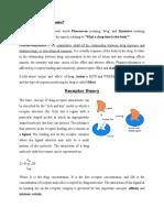 drug receptor interaction (1)