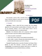 România în perioada interbelică