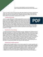 Industry analysis 2