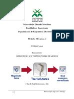 FICHA 1 - INTRODUÇÃO AOS TRANSDUTORES DE MEDIDA