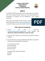 Guía 3, grado 10