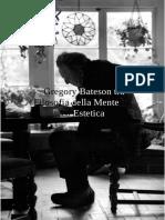 Gregory Bateson Tra Filosofia Della Mente ed Estetica