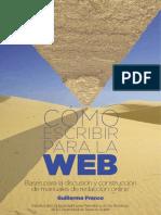 Como escribir para la WEB - Guillermo Franco