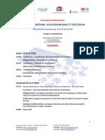 Programme (Union européenne, souverainismes et sécession)