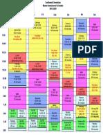 master schedule 2019-2020