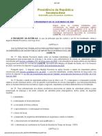 MP 927 - Disposição sobre alterações contrato de trabalho durante pandemia