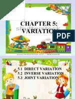 5.1  direct variation new