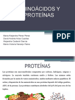AMINOÁCIDOS Y PROTEÍNAS 2