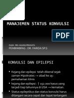 Manajemen Status Konvulsi