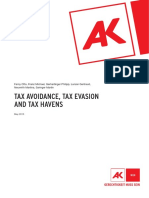 tax avoidance, tax evasion, and tax havens