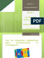 PPT ARGUMENTACION Y ACTIVIDADES.ppt