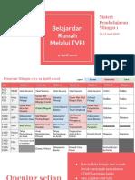 Daily - Materi Minggu 1 - Belajar di Rumah melalui TV.pdf