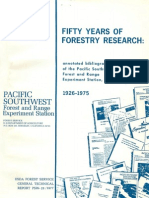 Fifty years of forestry research