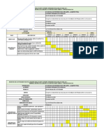 CRONOGRAMA DE ACTIVIDADES  - PRACTICA EMPRESARIAL 2020