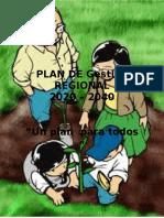 PLAN DE Gestión  REGIONAL METROPOLIS