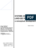 Systems analysis in land-use planning...a conceptual development
