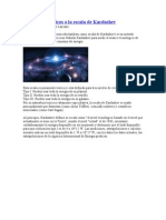Imperios galácticos o la escala de Kardashev