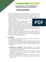 15.0 PLAN DE CONTINGENCIA