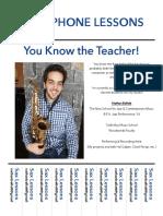 Sax lessons-vineapple