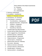 Plant List 8