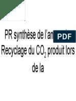 PR synthèse