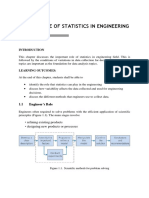 Role of statistics in engineering