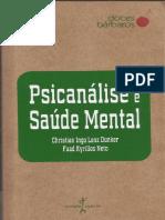 Psicanálise e Saúde Mental - Christian Dunker & Fuad Kyrillos.pdf