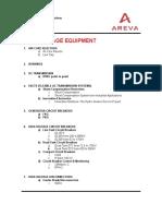 AREVA T&D Product Range