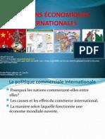 RELATIONS ÉCONOMIQUES INTERNATIONALES 5 (1)