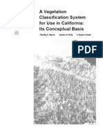 A vegetation classification system for use in California