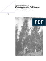 Proceedings of a work-shop on Eucalyptus in California